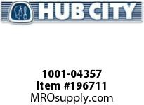 HUBCITY 1001-04357 PB251NX7/8 PILLOW BLOCK BEARING
