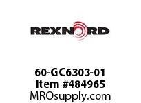 REXNORD 6472758 60-GC6303-01 IDL*35TRGH IMP UEQ R/G
