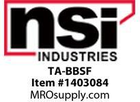 NSI TA-BBSF INDOOR BACKBOX 4^ BB-S