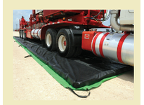 MBT FM-1980 Use impermeable railroad track mats when refueling locomotives at ready-station sites and when greasing rails. The top layer (black) is UV-resistant the center layer is highly : (white) prevents diesel fuel oil and other hy