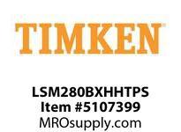 TIMKEN LSM280BXHHTPS Split CRB Housed Unit Assembly