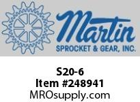 Martin Sprocket S20-6 HUB TB WELD ON