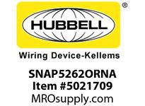 HBL_WDK SNAP5262ORNA SNAP2CONNECT DPLX 15A/125V US OR