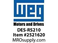 WEG DES-RS210 Motor 213T and 215T Integrals