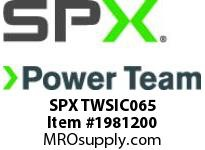 SPX TWSIC065 SOCKET-1-1/2in SQR DRIVE x 2-9/16in