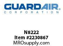 Nordair N8222 Standard Cloth Filter Frame For 8 G