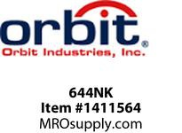 Orbit 644NK INDOOR NEMA 1 SCREW COVER ENCL W/O KO 6X4X4
