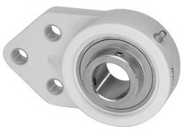 IPTCI Bearing CUCTFB206-18 BORE DIAMETER: 1 1/8 INCH HOUSING: 3-BOLT FLANGE BRACKET HOUSING MATERIAL: POLYMER