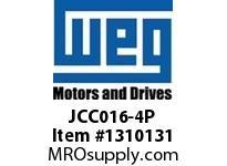 WEG JCC016-4P 4P 16A 4NO CON CWC AC COIL Contactors