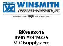 WINSMITH BK9998016 STD BASE KIT 926D DT DIMS WORM GEAR REDUCER