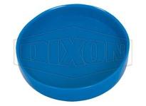 "DIXON BCC-050 1/2"" Blue Plastic Cap - Clamp End"