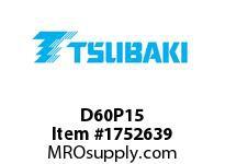 US Tsubaki D60P15 D60P15 SPLIT TAPER HT
