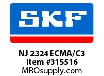 SKF-Bearing NJ 2324 ECMA/C3