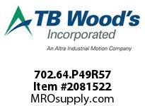 TBWOODS 702.64.P49R57 MULTI-BEAM 64 22MM--1-1/4