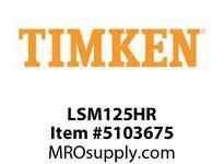 TIMKEN LSM125HR Split CRB Housed Unit Component