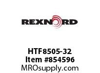 REXNORD HTF8505-32 HTF8505-32 HTF8505 32 INCH WIDE RUBBERTOP MATT