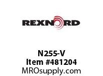 REXNORD 6167655 N255-V 952 PINS ONLY ARE N/A