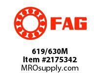 FAG 619/630M RADIAL DEEP GROOVE BALL BEARINGS