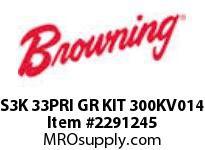 Browning S3K 33PRI GR KIT 300KV014 S3000 ASSY COMPONENTS