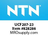 NTN UCF207-23 Square flanged bearing unit
