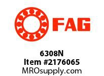 FAG 6308N RADIAL DEEP GROOVE BALL BEARINGS