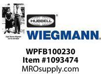 WIEGMANN WPFB100230 4^ FILTERED BOX FAN 230V