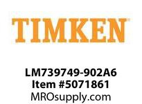 TIMKEN LM739749-902A6 TRB 2-Row Assembly 8-12 OD