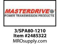 MasterDrive 3/SPA80-1210 3 GROOVE SPA SHEAVE