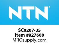 NTN SC0207-35 Bearing Units - Cast Covers