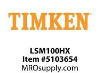 TIMKEN LSM100HX Split CRB Housed Unit Component