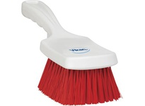 REMCO 41884 Vikan Resin Brush Resin Set Short Churn- Stiff- Red