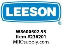 LEESON W8600502.55 H860-7 5-H-55