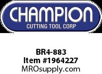 Champion BR4-883 CARB TIP LEAD ANGLE TURN TOOL