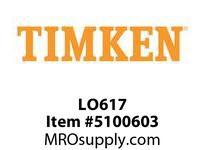 TIMKEN LO617 SRB Plummer Block Component