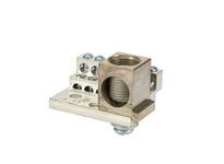NSI 1012M 225A STACKED NEUTRAL BAR 4-14 AWG 12 CIRCUITS & 350 MCM - 6 AWG MAIN LUG