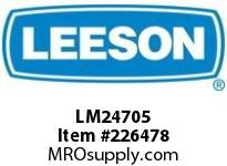 LM24705 .33HP 3600RPM 56 TEFC 115/208V 1PH 60HZ