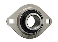 FYH SBPFL20619KG5 1 3/16 LD SS 2-BOLT PRESSED STEEL UNIT