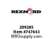 REXNORD 209285 35375 201.DBZB.CPLG STR TD