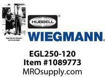 WIEGMANN EGL250-120 HEATERFAN250 WATT120 VOLT