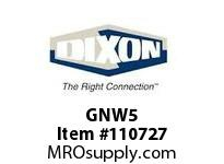 DIXON GNW5 3/4 304 KING TB WELD-ON NIPPLE