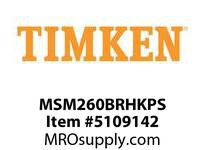 TIMKEN MSM260BRHKPS Split CRB Housed Unit Assembly