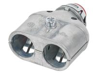 "Bridgeport 3838ASP 3/8"" insulated boule barrel duplex connector"