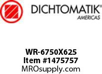 Dichtomatik WR-6750X625 WEAR RING 40 PERCENT GLASS FILLED NYLON WEAR RING