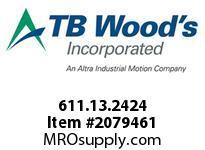 TBWOODS 611.13.2424 HUCO-POL U-JOINT 13 1/8 --1/8