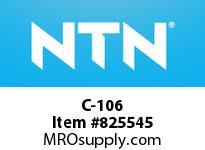 NTN C-106 Insert Brg (Standard)