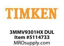 TIMKEN 3MMV9301HX DUL Ball High Speed Super Precision