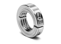 Climax Metal ISTC-087-14-S 7/8-14^ ID Stnls Threaded Split Shaft Collar