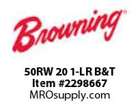 Morse 50RW 20 1-LR B&T RW REDUCERS 3.0 - UP