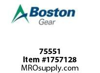 Boston Gear 75551 EN51908-0808 1/2 TO 1/2 MALE ADPT