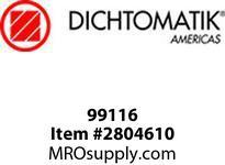Dichtomatic 99116 STAINLESS STEEL SHAFT SLEEVE SHAFT SLEEVE